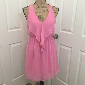 Everly Pink Sheer Sundress | Small